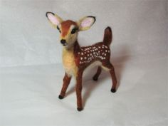 Needle Felted Baby Deer/Fawn