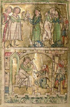 Rudolf : Wilhelm von Orlens 13. Jh. Cgm 63  Folio 60v