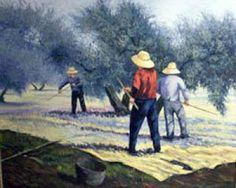 Andaluces de Jaén, aceituneros altivos, decidme en el alma, ¿quién, quién levantó los olivos? No los levantó la nada, ni el dinero, ni el señor, sino la tierra callada, el trabajo y el sudor.