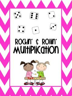 Rockin and Rollin Multiplication Game