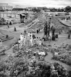 Manila Carnival Forest School and mountain mockups at Department of Agriculture and Forestry exhibition, Rizal Park, Manila, Philippines Vintage Pictures, Old Pictures, Old Photos, Philippines Culture, Manila Philippines, Emilio Aguinaldo, Rizal Park, Philippine Mythology, President Of The Philippines