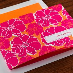 Invitation with detachable RSVP from eInvite. Inviting made easy with All in One Invitations, and I love the Hawaiian theme.