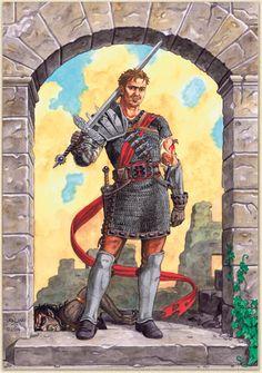 Krieger des Kor von Caryad.