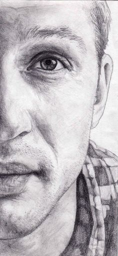 Tom Hardy drawing by my friend Devon. She is an amazing artist! :)