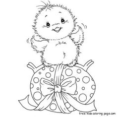 Printabel chicken and easter eggs coloring pages ----->>>>>>> http://freekidscoloringpage.com/