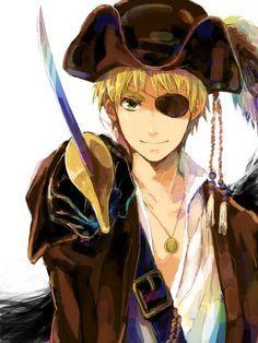 anime pirates - Google Search looks like england from Hetalia XD