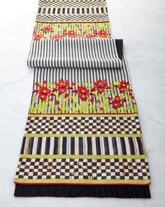 Iris+Table+Runner+by+MacKenzie-Childs+at+Horchow.