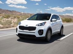 """Whether you're drawn to the new Sportage by its distinctively designed front end or in spite of it, Kia's compact SUV only gets more appealing by the mile."" http://www.kbb.com/car-news/all-the-latest/2016-compact-crossover-suv-comparison-2017-kia-sportage/2100000759/"