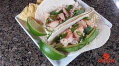 Chilean Crab Meat Tacos