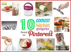 10 coolest kitchen gadgets found on Pinterest. These are awesome!