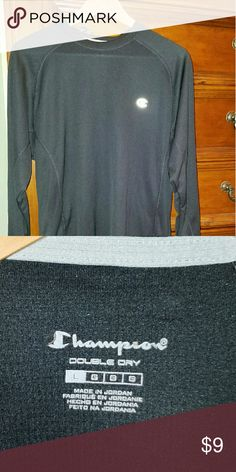 Men's Champion Long Sleeve Shirt Black, Champion Men's Long Sleeve Shirt Champion Shirts Tees - Long Sleeve