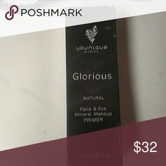 YOUNIQUE GLORIOUS FACE & EYE PRIMER NEW SEALED YOUNIQUE GLORIOUS FACE & EYE PRIMER NEW SEALED  Glorious Face and Eye Primer  A truly 'Glorious' product that prepares and enhances your skin.  Details  Give your day?and your face?a nice, smooth start. This velvety soft primer preps your skin for makeup coverage that will stay porcelain-perfect all day long.  Directions  Apply directly on skin prior to makeup application. Blend into skin using circular motions until primer is absorbed. Gentle…