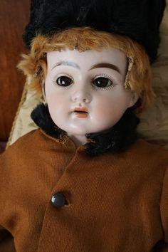 rare antique bisque cuno otto dressel boy doll