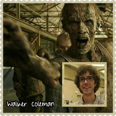 Coleman |The Walking Dead Zombies Before and After Makeup