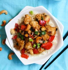 Better than takeout! Guilt Free Cashew Chicken