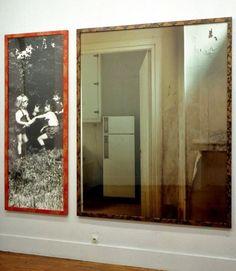 Sophie Ristelhueber, Vulaines IV, 1989, Diptyque 203 x 77 cm et 203 x 163 cmes IV, 1989 finale