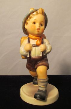 School Boy Hummel Figurine 82/0  5  Goebel by MyRedFlamingo, $40.00