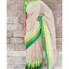 Anargala Khadi Saree By Gaurang Shah @Looksgud.in #designer #saree