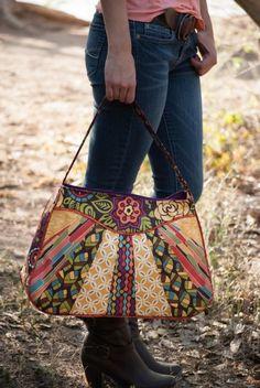 Sunburst Sling Bag PDF Sewing Pattern