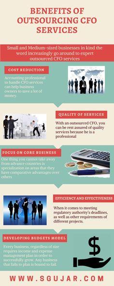 Benefits of outsourcing CFO services #Sgujar #CFO #CFOservice