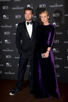 Diane Kruger y Joshua Jackson en el Festival de Venecia