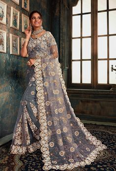 #Net #Sarees is one of the #best #indian #ethnic #dress, it is very #classic and #loved by the each and every #womens. #Nikvik is the #bestseller of #net #saree in #USA #AUSTRALIA #CANADA #UAE #UK Lehenga Choli, Anarkali, Lehnga Dress, Churidar, Salwar Kameez, Pearl Work Saree, Grey Saree, Net Blouses, Trendy Sarees