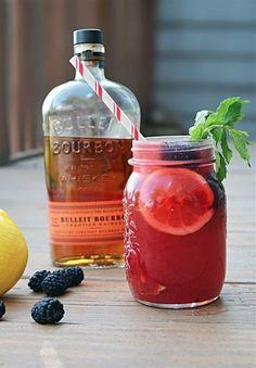 Blackberry Bourbon Lemonade | Community Post: 14 Boozy Lemonade Recipes You Should Definitely Make This Summer