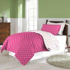 Agatha Ruiz De La Prada Bloom Hearts Percale Sheet Set   Overstock.com Shopping - The Best Deals on Sheets
