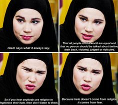 Sana is incredible  Skam>>> I just discovered this show yesterday, and I watched all of season 3 last night, and it's AMAZING. I did not expect it to be this good.