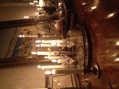 lotsa candles throughout December...