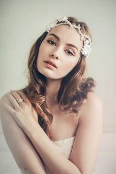 Marta –Jannie Baltzer Couture Headpieces 2015 Collection. www.theweddingnotebook.com