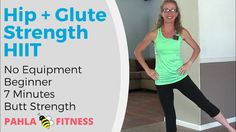 7 Minute Standing HIIT for Your BUTT | Fast GLUTE STRENGTH Workout ... We're pairing short bursts of high volume GLUTE work with the slow burn of SQUATS for a quick STANDING HIIT workout that will shape, firm and strengthen your HIPS and BUTT.  Get faster running results in just seven tough minutes, targeting the gluteal muscles and practicing balance.  Find more FREE workout videos at www.PahlaBFitness.com