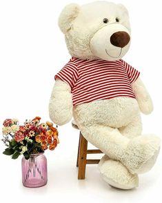 Giant Teddy Bear, Large White, Plush, Toys, Gadgets, Handmade, Animals, Ebay, People