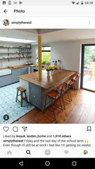 We're having a x extension on the back of our house, making a large room of x We 'could' have a massive RSJ but it would b Load Bearing Wall, House Extensions, Beams, Kitchen, Furniture, Design, Home Decor, Kitchens, Stretch Fabric