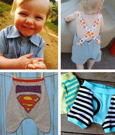 patrons PDF de couture pour petits garçons