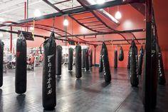 Brazilian Jiu-Jitsu heavy bags UFC Gym Torrance.    Photography by Samson Hatae Photography.