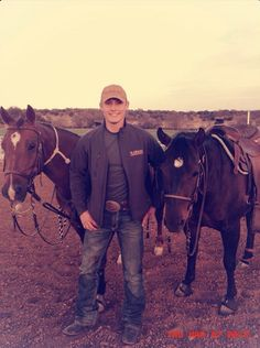 Bullseye and Topaz (of Barton Performance horses) with Tuf Cooper! From Tuf's FB fan page! Link to photo: https://www.facebook.com/photo.php?fbid=10151313991816641=a.482112216640.253049.306336181640=1