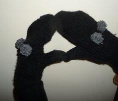 jak zrobić rękawiczki z jednym palcem