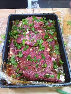 Tasty Tales by Tina: Authentic Carne Asada Marinade