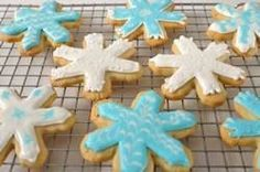 These sweet and buttery cut-out cookies are always a favorite for not only can you tailor the shape of the cookie to the occasion but you can also dress them simply with granulated or colored sugars or make them very decorative by frosting them with royal icing. From Joyofbaking.com With Demo Video