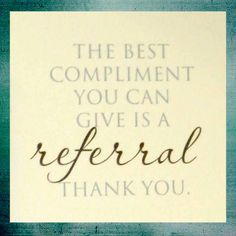 how to say thank you for your referral
