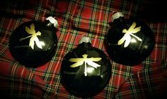 Coheed and Cambria dragonfly Christmas ornaments