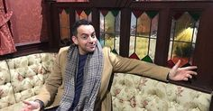Pics: Ben Forster and Elf the Musical visit Coronation Street set
