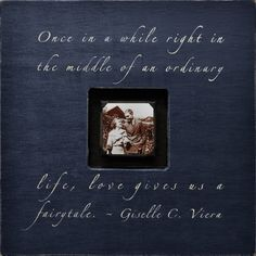 Once in a While Photobox Frame at Jack and Jill Boutique.
