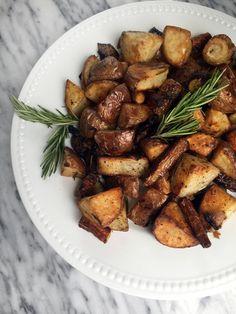 Roasted Rosemary Potatoes & Heirloom Carrots and a 90210 U4EA Podcast!!