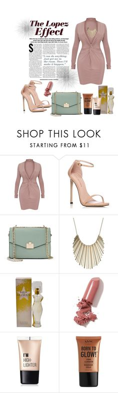 """Jlo inspiration"" by yeisa79 ❤ liked on Polyvore featuring Stuart Weitzman, Jennifer Lopez, LAQA & Co., Charlotte Russe and NYX"