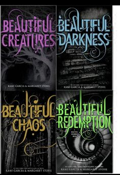 Beautiful Creatures 4 Books Collection, is an American young adult novels written by authors Kami Garcia and Margaret Stohl. Titles in This set are Beautiful Creatures, Beautiful Darkness , Beautiful Chaos and Beautiful Redemption. I Love Books, Good Books, Books To Read, My Books, Amazing Books, Beautiful Creatures Series, Sublime Creature, Paranormal Romance Series, Kami Garcia