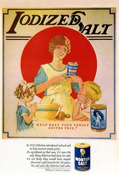 Classic Morton Salt ad