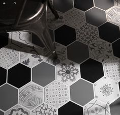 Examatt Decoro Examix Tiles Piastrelle Walltiles Floortiles Backsplash Pavimento Rivestimento Ceramiche Esagona Hexagon Design Homedesign Arredamento Interiordesign Decor Bathroom Kitchen Bagno Cucina Azulejos Carreaux