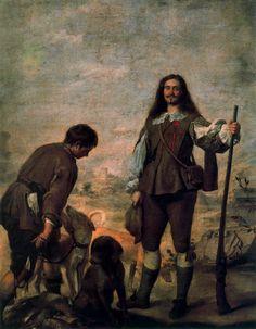 El cazador, retrato de Don Antonio Hurtado de Salcedo, Marqués de Legarda.
